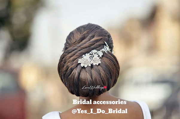 Nigerian Bridal Hair Accessories Yes I Do Bridal LoveweddingsNG