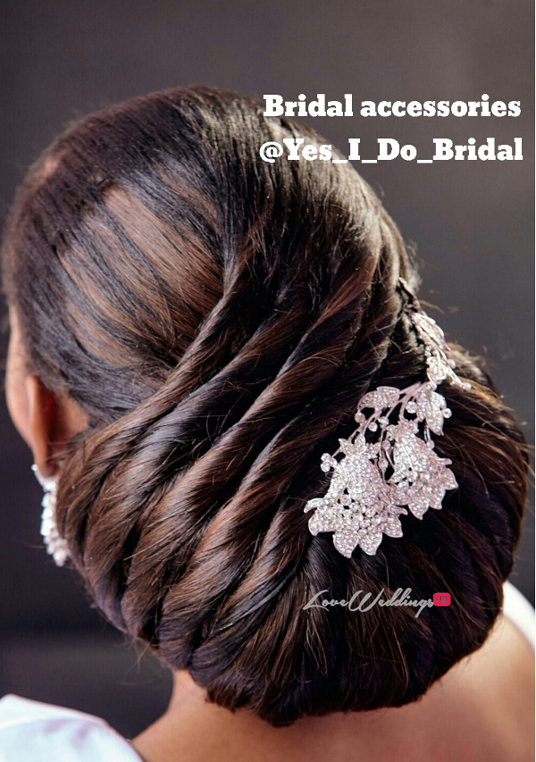 Nigerian Bridal Hair Inspiration Hair by Sleame LoveweddingsNG 1