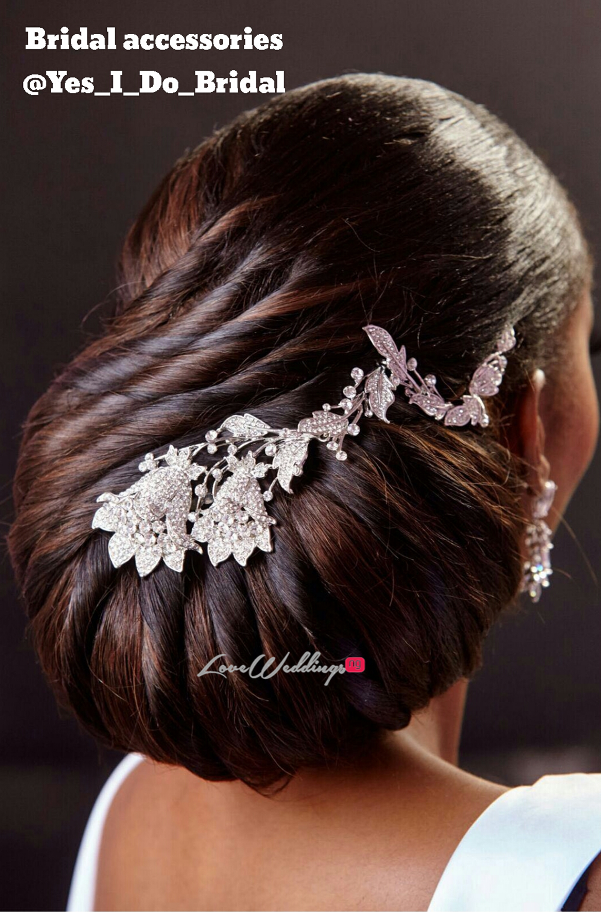 Nigerian Bridal Hair Inspiration Hair by Sleame LoveweddingsNG