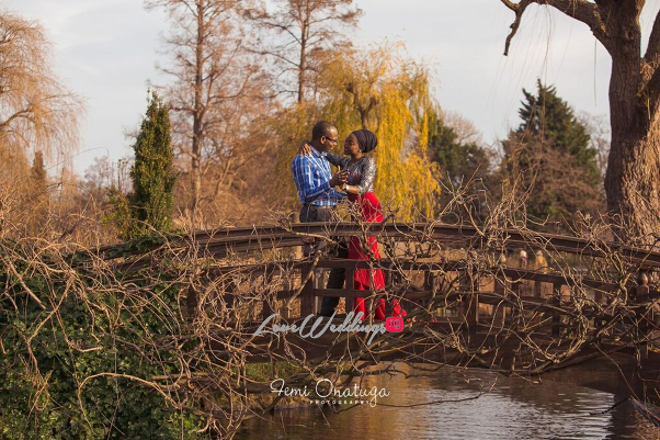 Nigerian Engagement Shoot Bilkisu and Hakeem Femi Onatuga LoveweddingsNG 1
