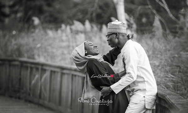 Nigerian Engagement Shoot Bilkisu and Hakeem Femi Onatuga LoveweddingsNG