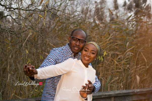 Nigerian Engagement Shoot Bilkisu and Hakeem Femi Onatuga LoveweddingsNG 9