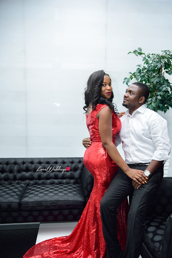 Nigerian Engagement Shoot - Ginika and Okey LoveweddingsNG 5