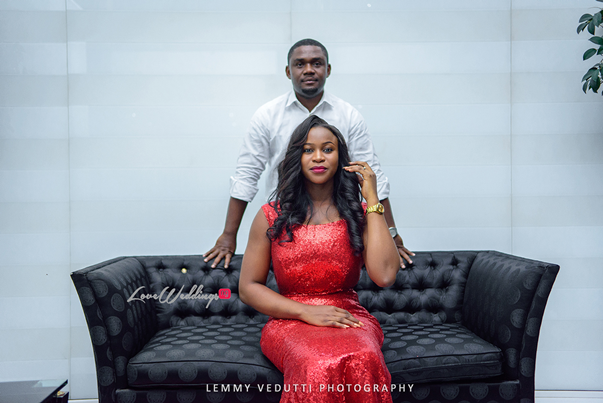 Nigerian Engagement Shoot - Ginika and Okey LoveweddingsNG 6