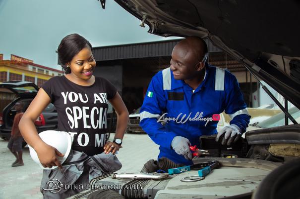 Nigerian Engagement Shoot - Nancy and Chinedu Engineers LoveweddingsNG 1
