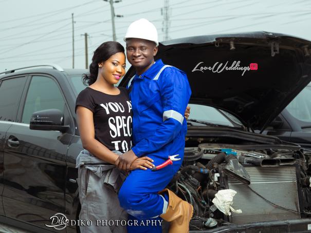 Nigerian Engagement Shoot - Nancy and Chinedu Engineers LoveweddingsNG 4