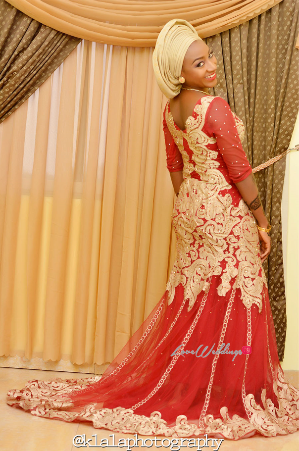 Nigerian Traditional Bride Bilkisu Klala Photography LoveweddingsNG 2
