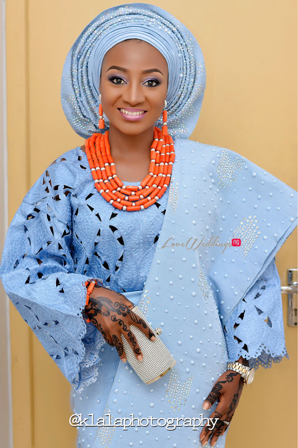 Nigerian Traditional Bride Bilkisu and Hakeem Klala Photography LoveweddingsNG 1