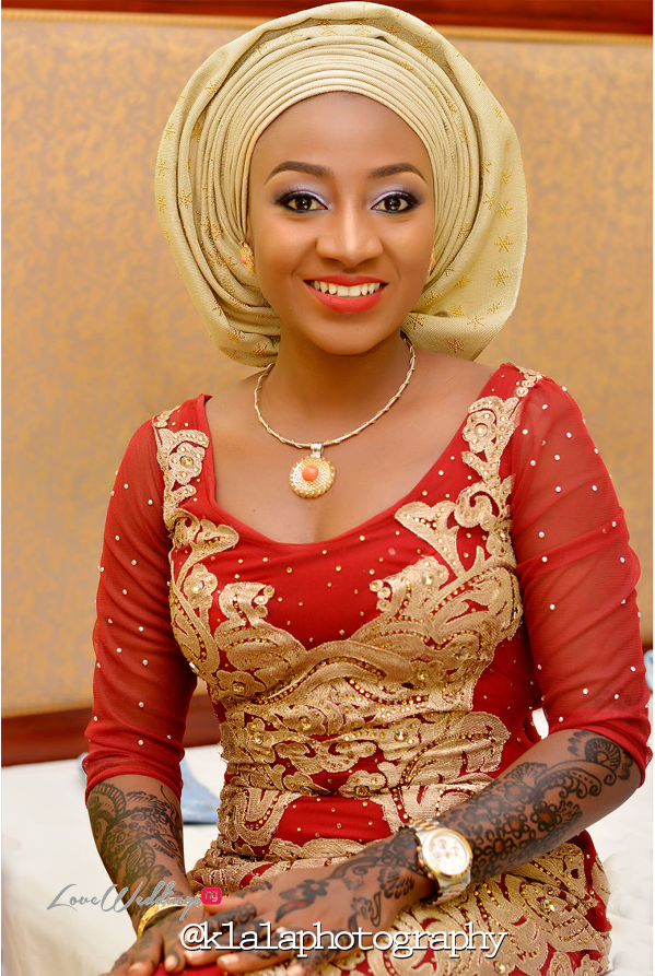 Nigerian Traditional Bride Bilkisu and Hakeem Klala Photography LoveweddingsNG 3