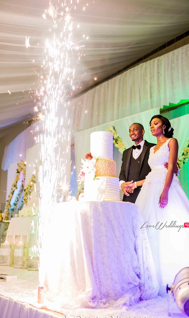 Nigerian Traditional Couple #MrandMrsChurch LoveweddingsNG 12