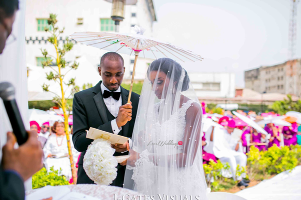 Nigerian Traditional Couple #MrandMrsChurch LoveweddingsNG 6