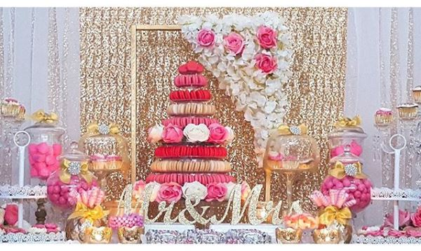 Nigerian Wedding Candy Table #MrandMrsChurch LoveweddingsNG
