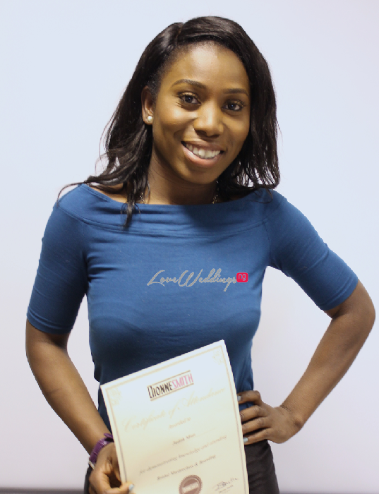 The Bridal Masterclass by Dionne Smith Academy - LoveweddingsNG Certificates 5
