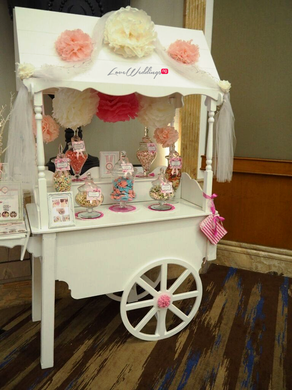 The Luxury Wedding Show 2016 LoveweddingsNG - Candy Cart 2