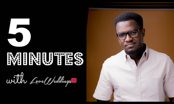 5 Minutes With Adeolu Adeniyi Phography LoveweddingsNG