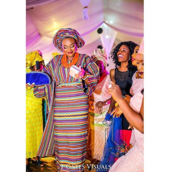 Aso Oke Head to Toe Nigerian Traditional Bride LoveweddingsNG 1