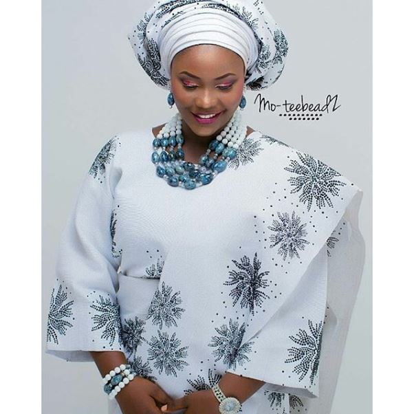 Aso Oke Head to Toe Nigerian Traditional Bride LoveweddingsNG 8