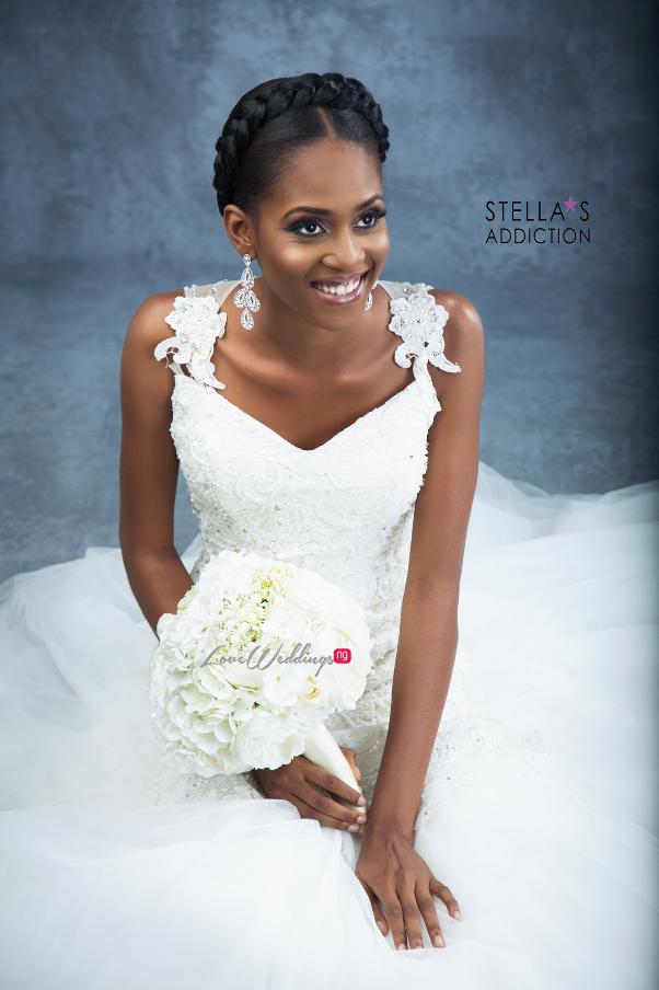 Bridal Hair and Makeup Inspiration Stellas Addiction LoveweddingsNG 11
