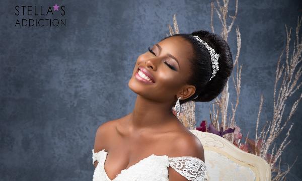 Bridal Hair and Makeup Inspiration Stellas Addiction LoveweddingsNG 2