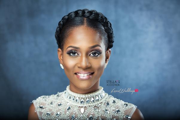 Bridal Hair and Makeup Inspiration Stellas Addiction LoveweddingsNG 4