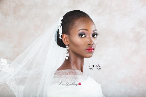 Bridal Hair and Makeup Inspiration Stellas Addiction LoveweddingsNG 5