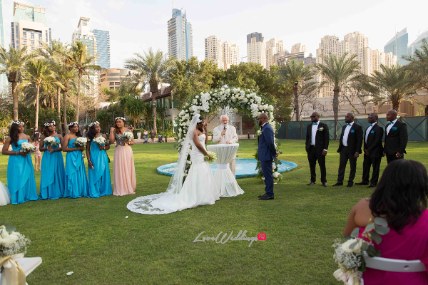 Dubai Destination Wedding Grace & Awongo #Grango2016 LoveweddingsNG Save The Date Wedding 7