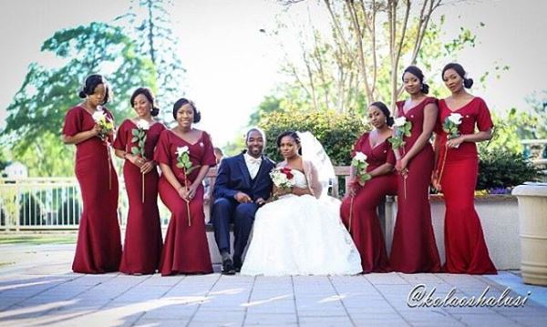 Liz Awoliyi and Tosin Osho Wedding