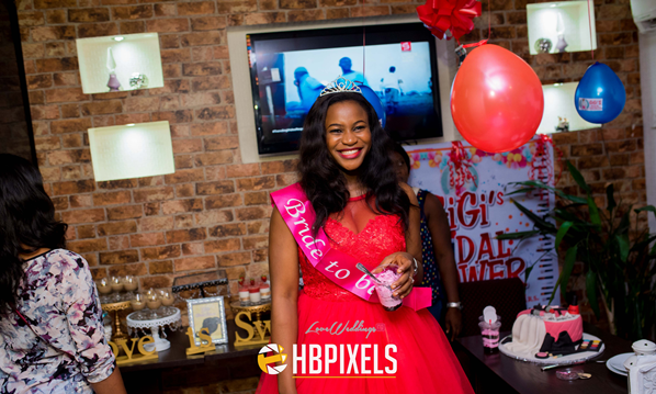 Nigerian Bridal Shower - Ginika Okolie #GiiOkey2016 LoveweddingsNG 2