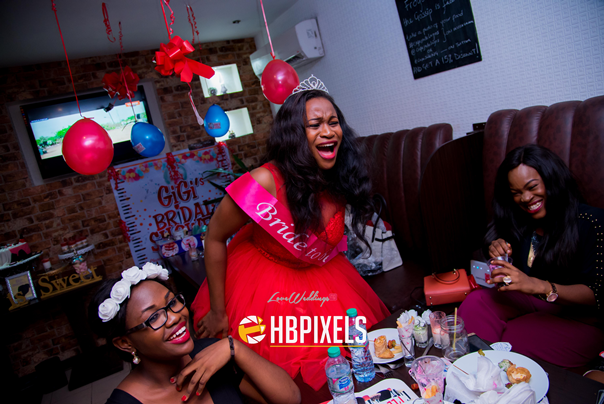 Nigerian Bridal Shower - Ginika Okolie #GiiOkey2016 LoveweddingsNG 5