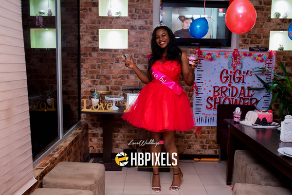 Nigerian Bridal Shower - Ginika Okolie #GiiOkey2016 LoveweddingsNG