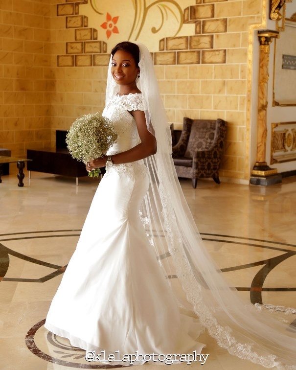 Nigerian Bride Gown - Tosin & Wale LoveweddingsNG Klala Photography