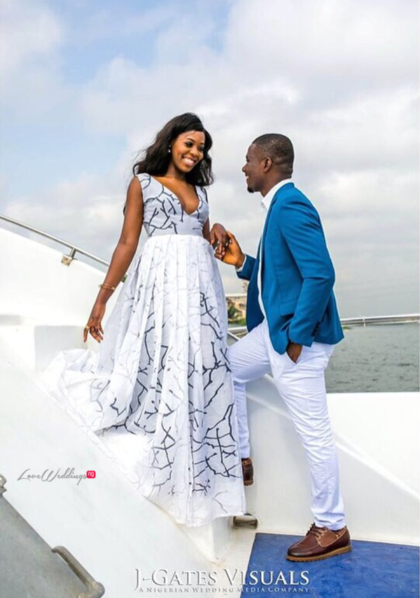 Nigerian Engagement Shoot - Chiamaka and Obinna JGates Visuals LoveweddingsNG 1