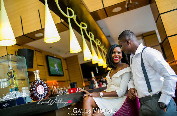 Nigerian Engagement Shoot - Chiamaka and Obinna JGates Visuals LoveweddingsNG7