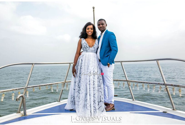 Nigerian Engagement Shoot - Chiamaka and Obinna JGates Visuals LoveweddingsnG