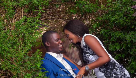 Nigerian Engagement Shoot Laykay Sax and Morakinyo LoveweddingsNG feat