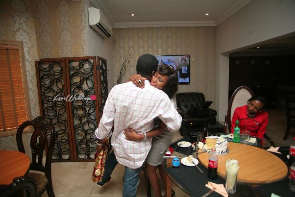 Nigerian Proposal Laykay Sax LoveweddingsNG