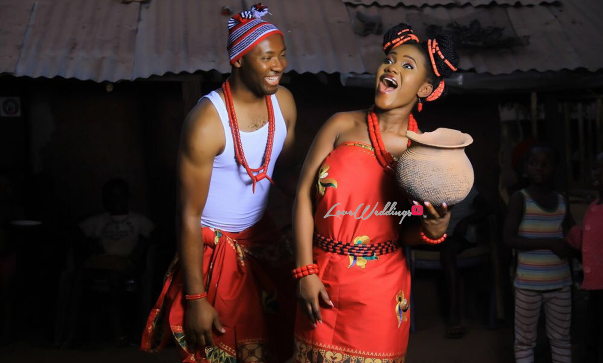 Nigerian Traditional Engagement Shoot #TheChizzys2016 LoveweddingsNG