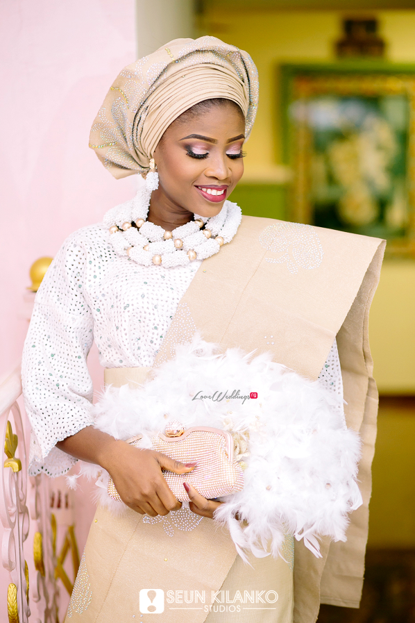 Nigerian Traditional Wedding Folake and Dotun Seun Kilanko Studios LoveweddingsNG Bride 1
