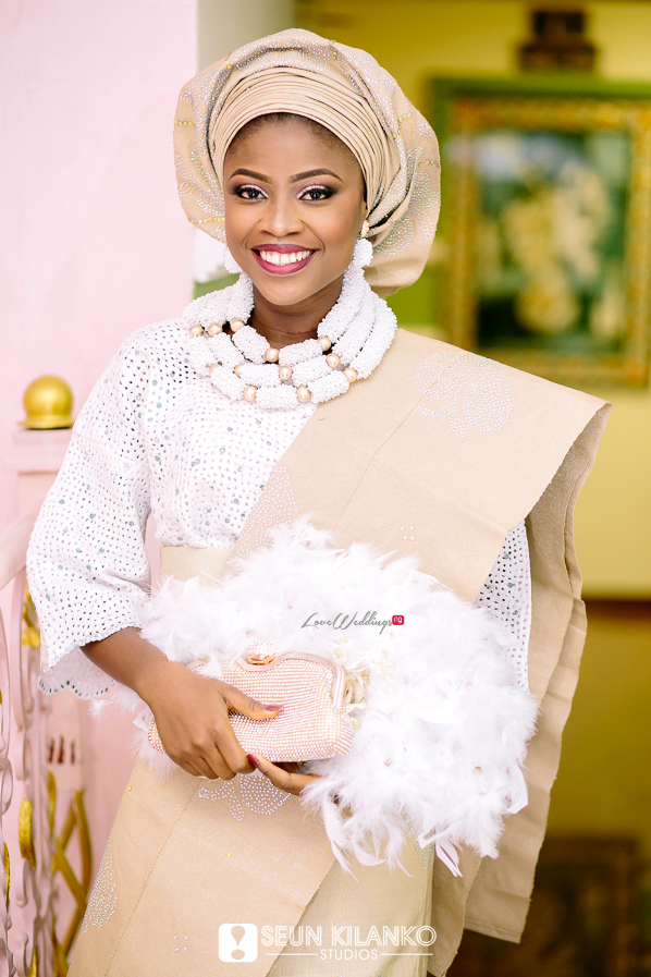Nigerian Traditional Wedding Folake and Dotun Seun Kilanko Studios LoveweddingsNG Bride