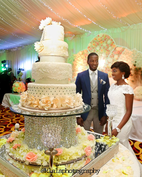 Nigerian Wedding Cake - Tosin & Wale LoveweddingsNG Klala Photography