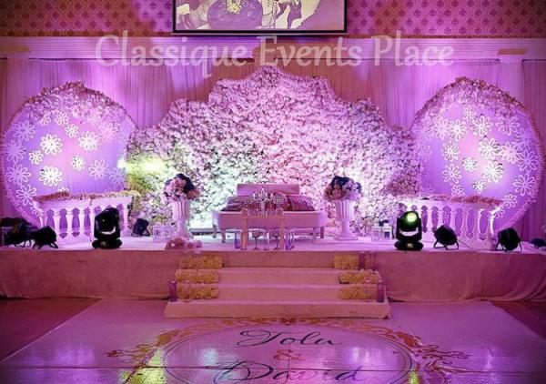 Nigerian Wedding Decor Classique Events Place #ThePsalms2016 LoveweddingsNG