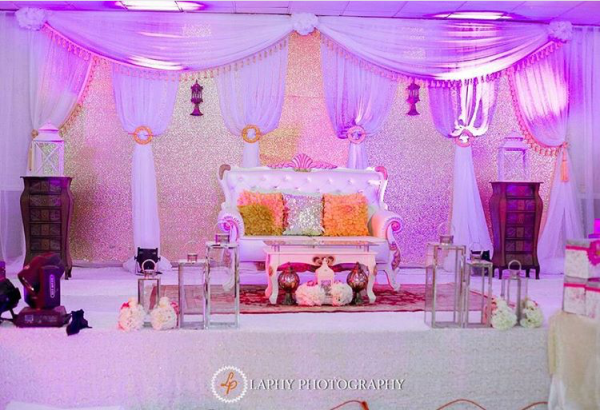 Nigerian Wedding Decor #ThePsalms2016 Vania Events Solution LoveweddingsNG