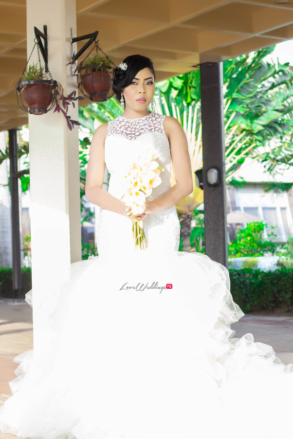 Nigerian Wedding Joy And Jonathan Brida Gown LoveweddingsNG 1