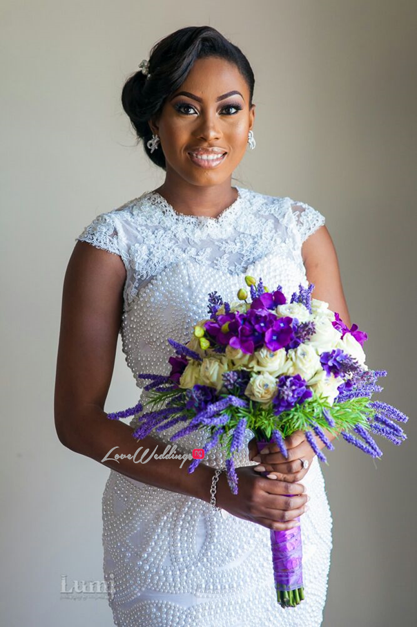 Nigerian Wedding #MeetTheShyngles Adeola and Ayodeji Bouquet Nwandos Signature