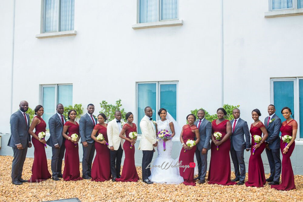 Nigerian Wedding #MeetTheShyngles Adeola and Ayodeji Bridal Train