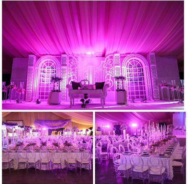 Nigerian Wedding #MeetTheShyngles Adeola and Ayodeji Decor Nwandos Signature Events 1