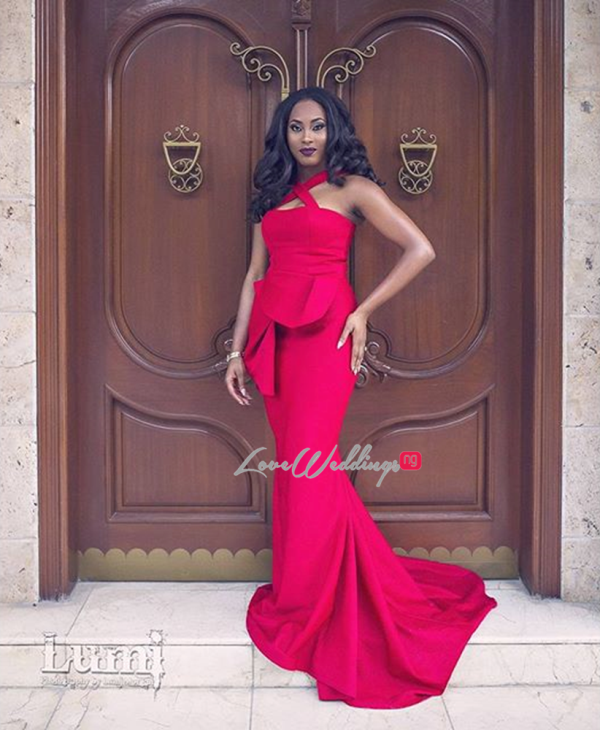 Nigerian Wedding #MeetTheShyngles Adeola and Ayodeji Gown MsMakor