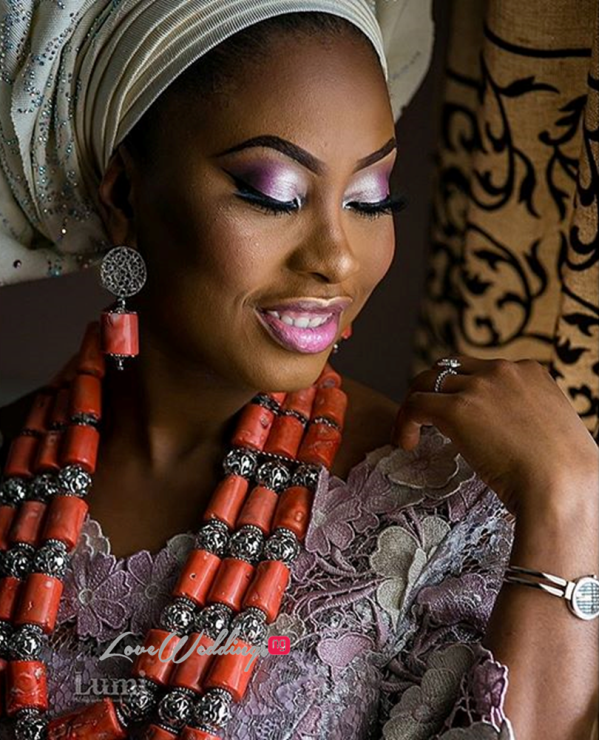 Nigerian Wedding #MeetTheShyngles Traditional Wedding Adeola and Ayodeji Beads