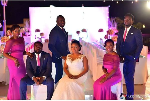 Nigerian Wedding Ranti and Isaac LoveweddingsNG 2706 Events Bridal Train