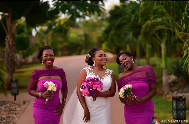 Nigerian Wedding Ranti and Isaac LoveweddingsNG 2706 Events Bridesmaids